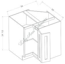 lazy susan cabinet dimensions lazy cabinet dimensions upper cabinet upper corner