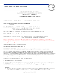 Gallery Of Entry Level Lpn Partical Nurse Resume Sample Department