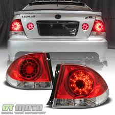 2001-2005 Lexus IS300 Philips Lumileds LED Tail Lights 2pcs Lamps ...
