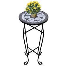 vidaXL New Balcony <b>Mosaic</b> Side <b>Coffee Table Plant</b> Flower ...