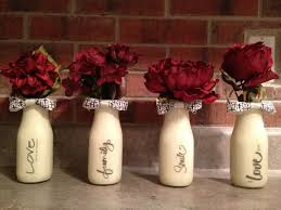 Milk Bottle Decorating Ideas Christmas Decorated Milk Bottles Psoriasisguru 27
