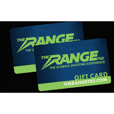 the range gift card