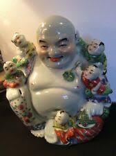 <b>Happy Buddha Statue</b> In <b>Antique</b> Chinese <b>Figurines</b> & <b>Statues</b> for ...
