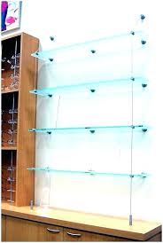 hanging shelves from ceiling suspended shelf ceiling hanging shelves suspended glass shelf suspended shelves suspended glass