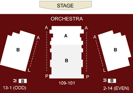 Westside Theatre Seating Chart The Westside Theatre Seating Chart Theatre In New York