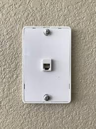 that s right folks a telephone jack at eye level for a wall mounted phone or at least that s what we think it is i did not know they even made phones