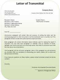Transmittal Letters Letter Of Transmittal Example Proposal Engineering Or Templates
