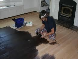 Dark Stain On Hardwood Floors  ThewhitebuffalostylingcocomStaining Hardwood Floors Black