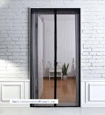 magnetic sliding screen door bug net for patio door decorative magnetic mosquito net sliding screen door manufacturer