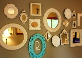 image of vintage mirror sets wall decor