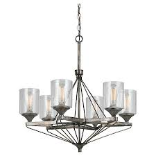 cal lighting cresco metal 6 light chandelier cal lighting wood chandelier