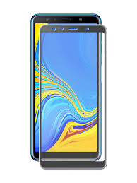 <b>Защитное стекло Palmexx для</b> Samsung Galaxy A7 2018 5D Black ...