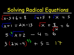 solving radical equations with square