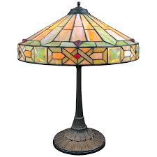 Stained Glass Lamps 81 For Sale On 1stdibs
