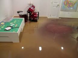 flooded basements and sump pump overflow