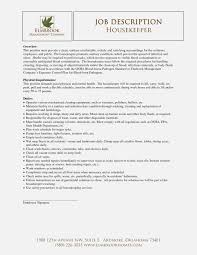 Job Description For House Cleaning House Cleaning Resume Examples