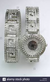 With Photo Watch Stock 163010644 Bling Fake - Diamonds Encrusted And Alamy Gold