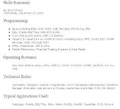 Technical Skills In Resume Unique Technical Skills For Resume Sample Resume 28 Employment Education