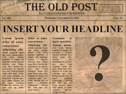 Powerpoint Newspaper Clipping Template Love It Editable Old Newspaper Template Opens In