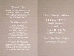 Wedding Program Templates Free Word 17 Unique Ms Word Wedding Invitation Template Software