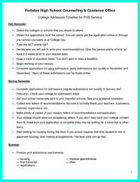High School Resume For College Application College Admissions