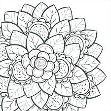Flowers Coloring Pages For Adults Coloring Hard Flower Coloring