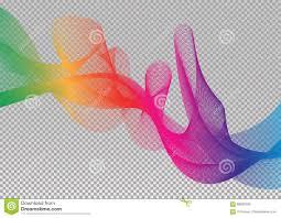 Spectrum Graphic Design Rainbow Sky Spectrum Creative Vector Graphic Stock Vector