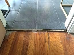 tile to wood floor transition tile floor transitions floor transition tile to wood install interior installing