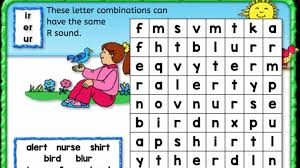 I also tell them that er, ir, and ur are pronounced the same. Word Search Er Ir Ur Anywhere Teacher