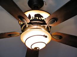 rustic ceiling fans. Image Of: Rustic Flush Mount Ceiling Fan Fans O
