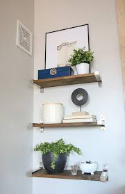 how to style bathroom shelves