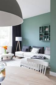 Wall Painting For Living Room Modern Turquoise Green Grey And White Design Dutch Vtwonen
