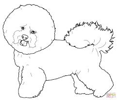 Disegno Di Cucciolo Di Cane Da Stampare Gratis E Colorare