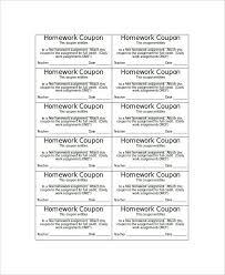 coupon templates word 14 coupon templates free sample example format free