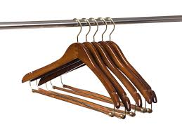 25 quality hangers curved wooden hangers beautiful sy suit coat hangers with locking bar gold hooks