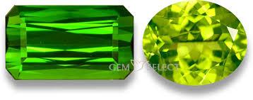 Semi Precious Stone Color Chart Green Gemstones List Of Green Precious Semi Precious