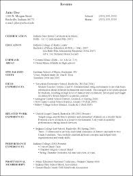 Photography Resume Templates Adorable College Student Resume Example Interesting Resume Examples For