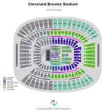 Browns Seating Chart Cleveland Browns Stadium Seating Chart