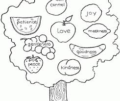 Fruit Of The Spirit Coloring Pages Free Fruit Of The Spirit Coloring