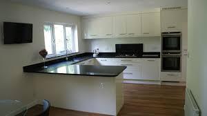 Karndean Kitchen Flooring Modern Gloss White Kitchen In Ascot Berkshire With Karndean