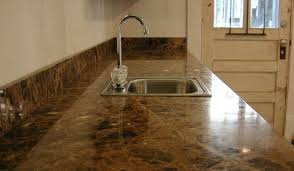 how to clean and maintain marble and tile countertops