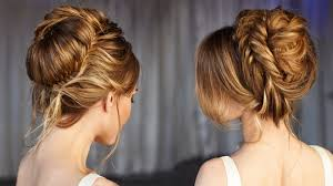 Elegant Prom Hair Style elegant wedding updo prom hairstyles hair tutorial youtube 3491 by wearticles.com