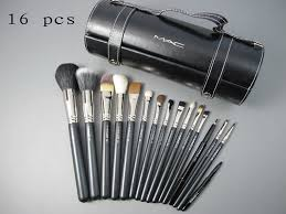 pro outlet mac maekup 16 pcs brushes set