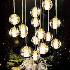 creative of glass ball pendant light fantastic glass ball pendant light 10 heads glass aluminum wire