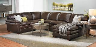 leather sectional couches. Picture Of Winfield Leather Sectional Sofa Couches Haynes Furniture
