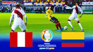 PES 2021 - PERU vs COLOMBIA - Copa ...