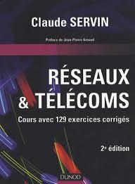 livre important :réseaux et télécoms avec exercices