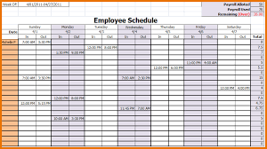 Schedule Monthly Template Monthly Work Schedule Template Task List Templates