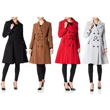las stylish de la crème jacket coat
