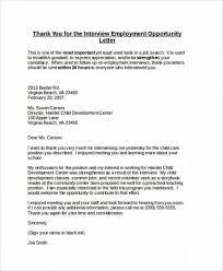 11 12 Employment Thank You Letter Examples Lascazuelasphilly Com